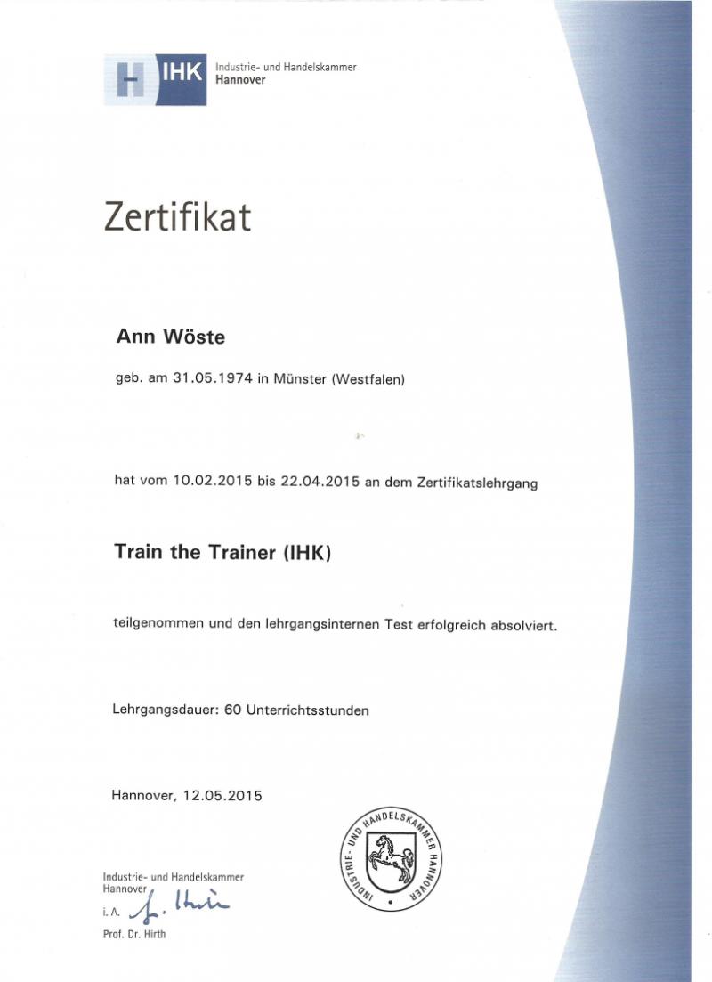 Zertifizierter Coach (DFC)